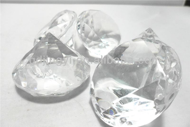 Acrylic 55cm Diamond Wedding Reception Table Decoration Buy