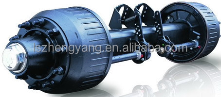 Wholesale China factory semi trailer axles parts 150 square beam ...