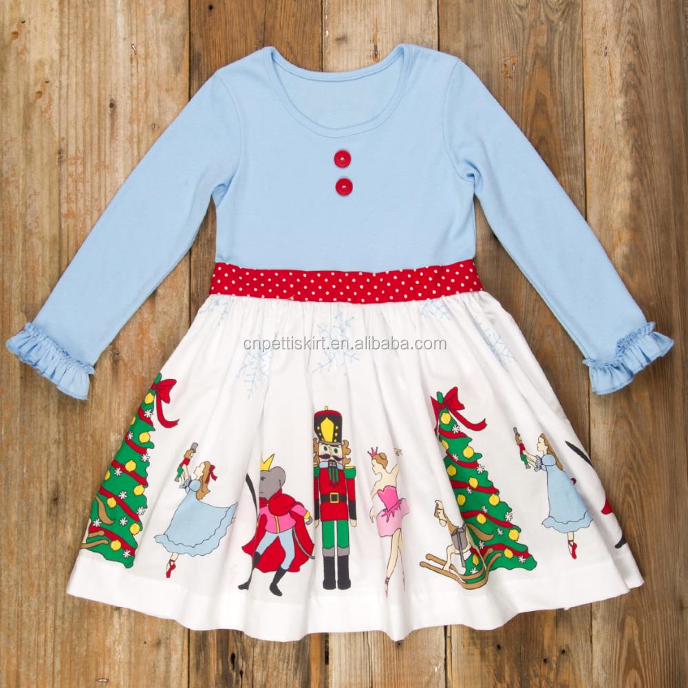 dfcdc61ae71 2017 cute fashion baby girls blue stripe floral dress little girls milk  silk fabric dress