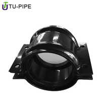 pipe fittings round tube metal pipe repair clamp