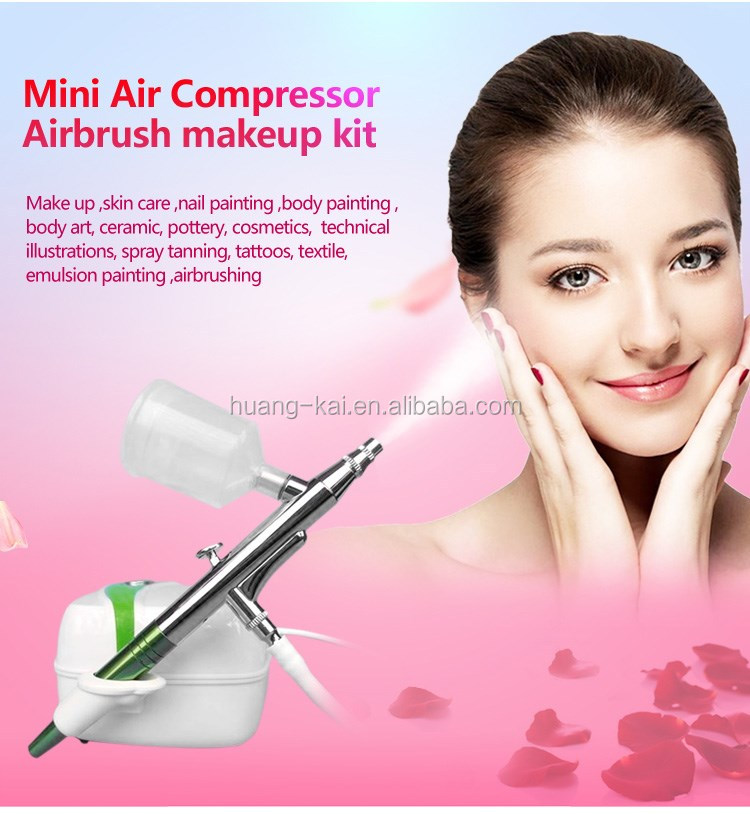 Make-up mini compressor, Cosmetic Airbrush
