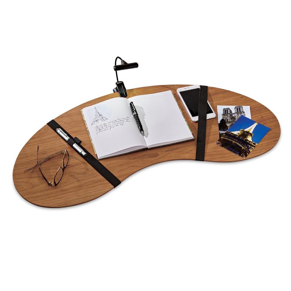 Levenger Wooden Lap Desk, Natural Cherry (FA6030 CH)