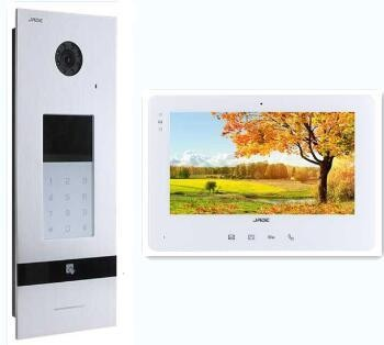 New Jade Tcp/ip Video Door Phone For Apartments/home Automation ...