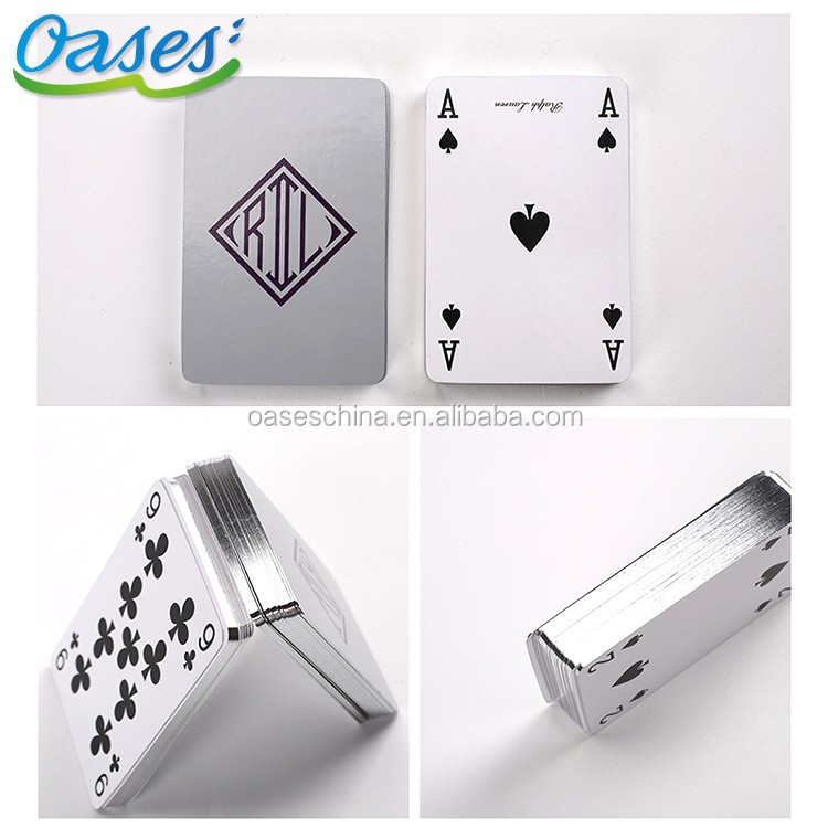Cheap custom playing cards printing with moq 500 sets