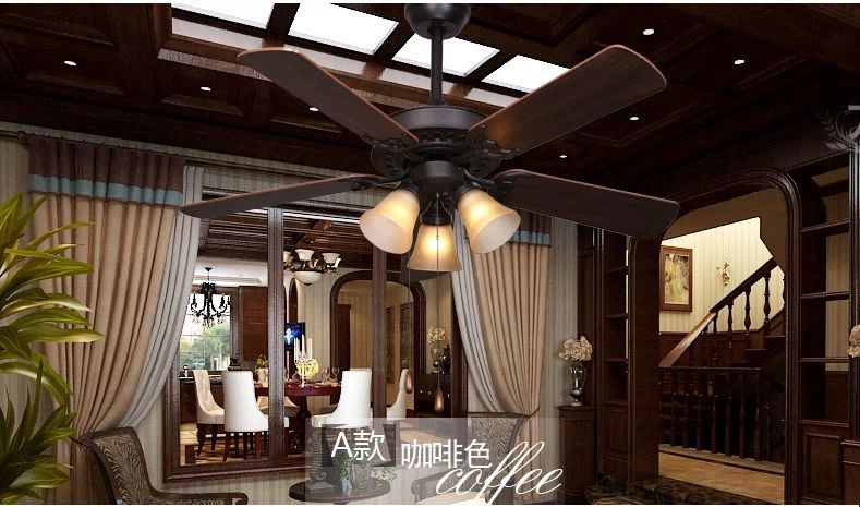 Dining Room Living Room Living Room Fan Lights Fan 44inch