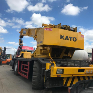 Good condition used Tadano /Kato50 ton hydraulic five telescopic booms crane for sale+8618116482935