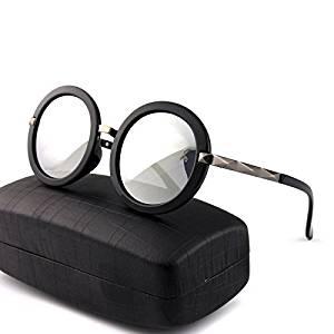 ZWC Europe round sunglasses in polarized glasses color film round driving driving sunglasses the driver mirror