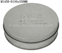 metal tin cd case/ dvd tin holder wholesale