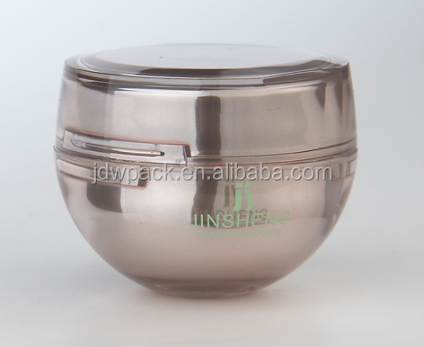 20/50g polygon shape beautiful desigh acrylic cosmetic cream jars, acrylic jars for personal care