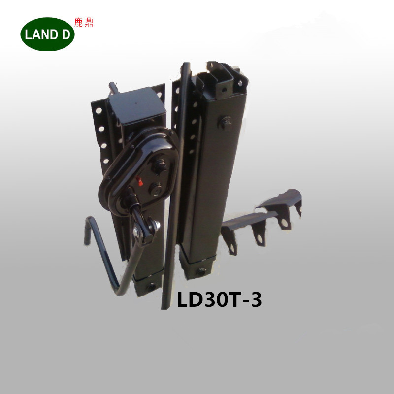 Weld Two Sides Heavy Duty Gear Leg Gearbox Inside 28T Truck Parts Lifting Stabilizer Trailer Electric Jack