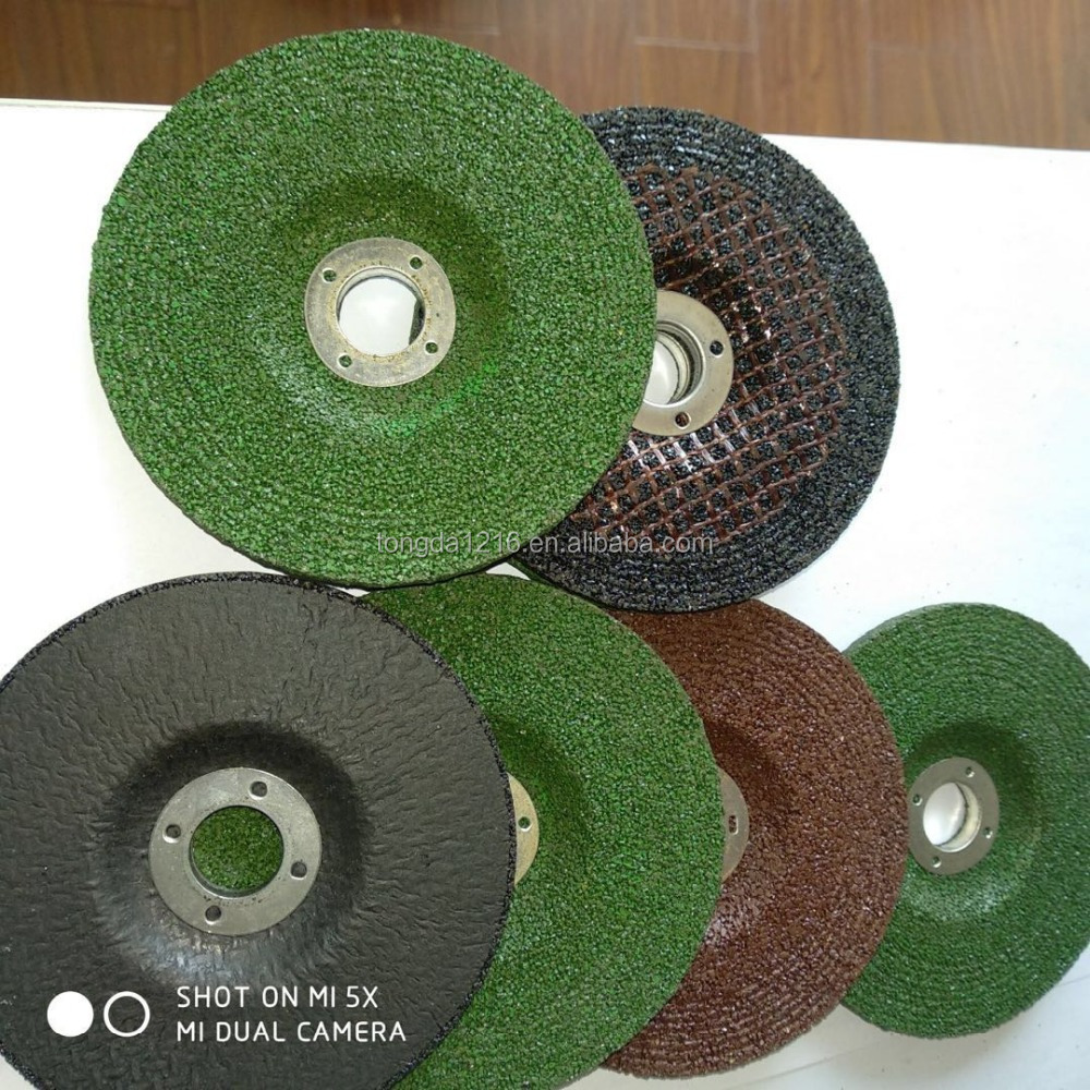 tongda best price abrasive tools/sharpening grinding disc/grinding disc for wood
