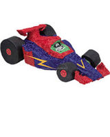 paper race car shape pinata pinata