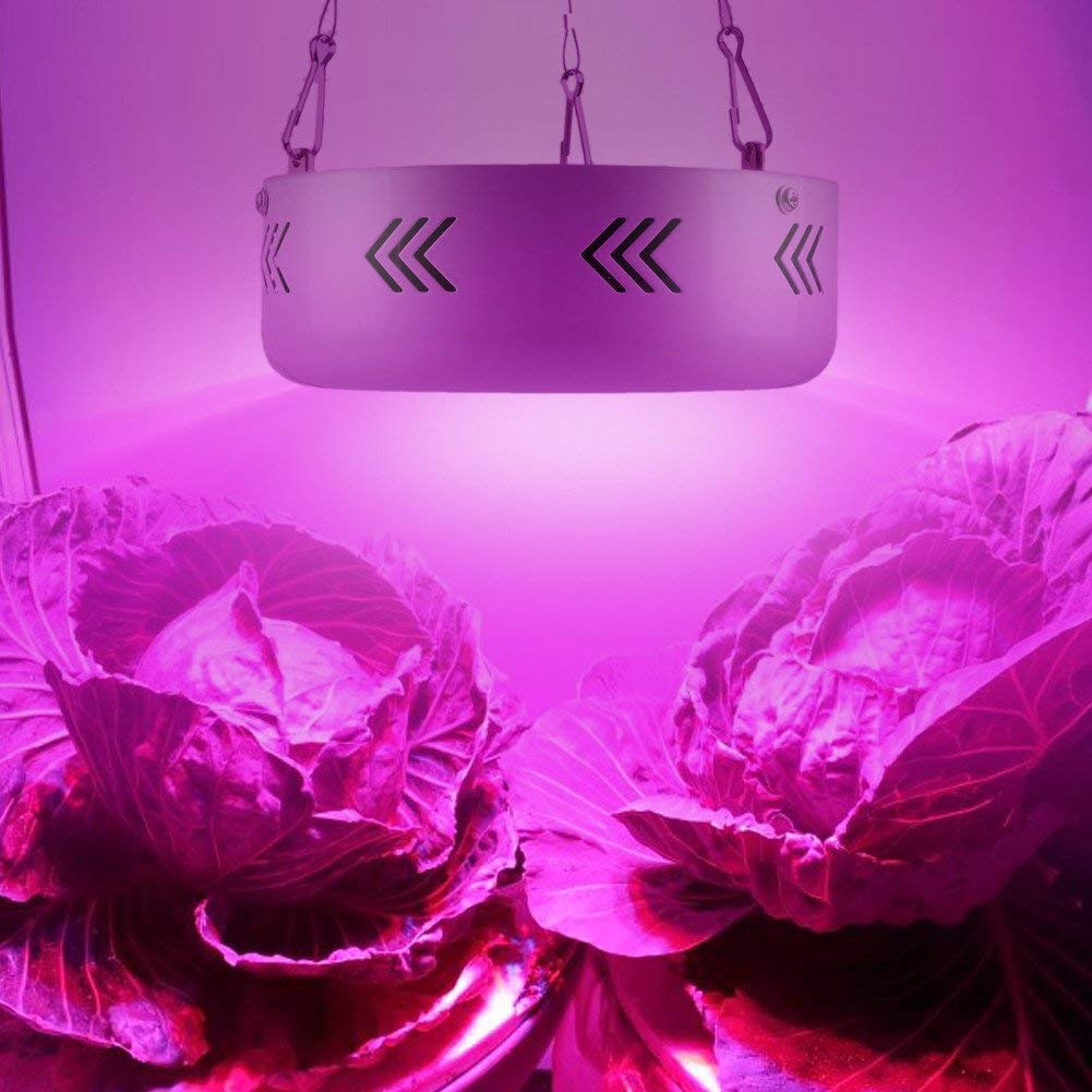 Xligo Full Spectrum Double Chips 10W Epistar 36LED AC85-265V Red+Blue+warm white+white+IR+UV LED Grow Lights Lamp for Hydroponic Plant