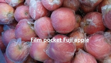 Hot-sell Natural Planting High Quality apple/film bagged Fuji apple