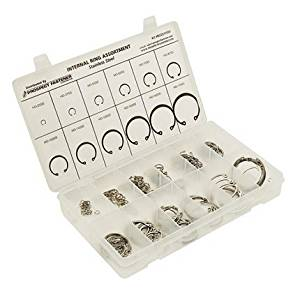 Prospect Fastener RCI25175SS Metric Stainless Internal Ring Assortment - 180 Pieces