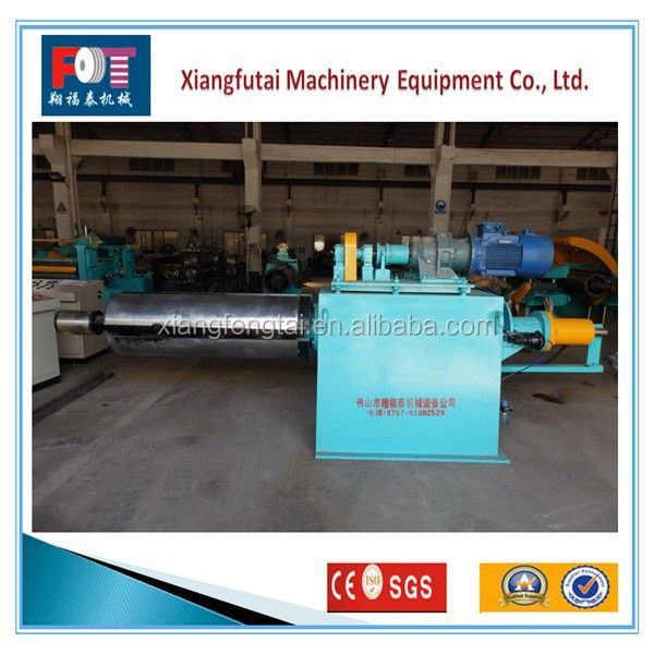 European standard Electric hydraulic de-coiling machine from FOT machiery supplier
