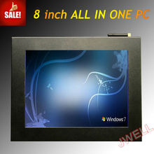 "2013 Hot 8""10""12.1""Small Embedded Industrial Touch Pc All In One Panel Pc"