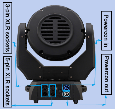 China cheap price 19 pcs 15w 4-in-1 rgbw led zoom moving head wash stage light for sale