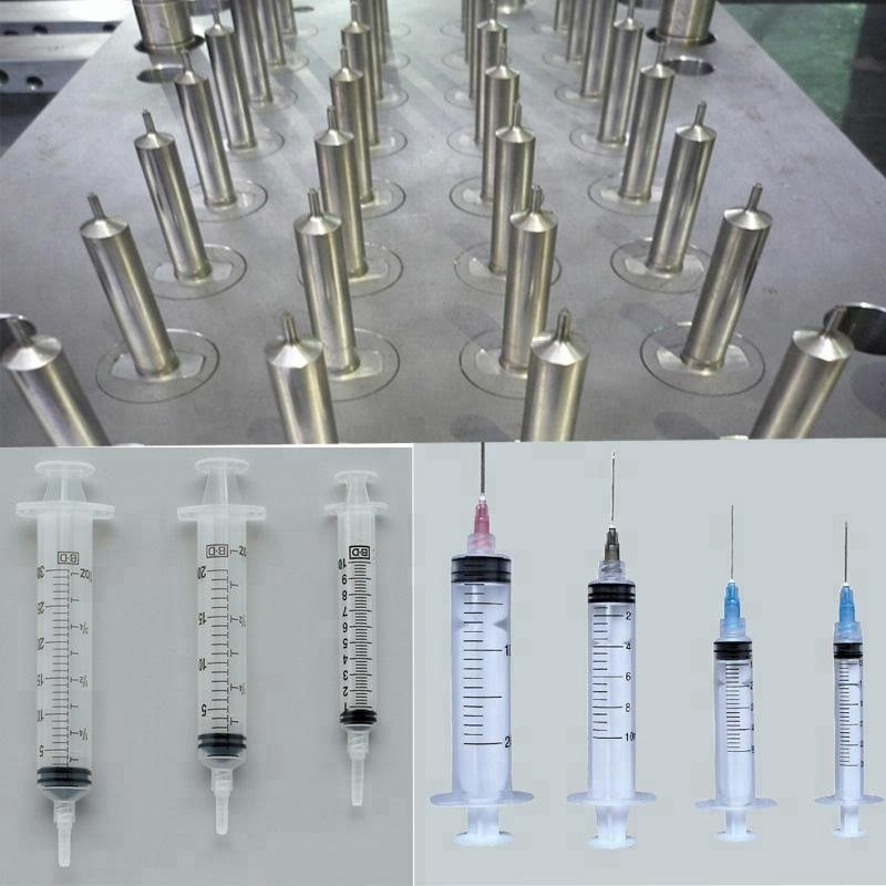 Disposable Syringe Mould, Plastic Plunger Injection Mold