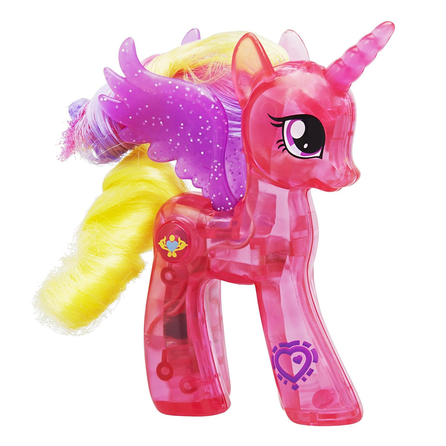 Get quotations · my little pony explore equestria sparkle bright 3 inch princess cadance