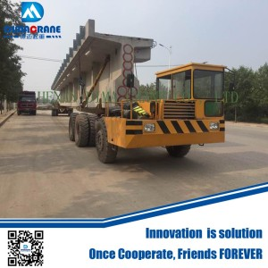 160 ton rubber tyred tired bridge beam girder transporter carrier dolly trailer manufacturer price for Highway bridge building