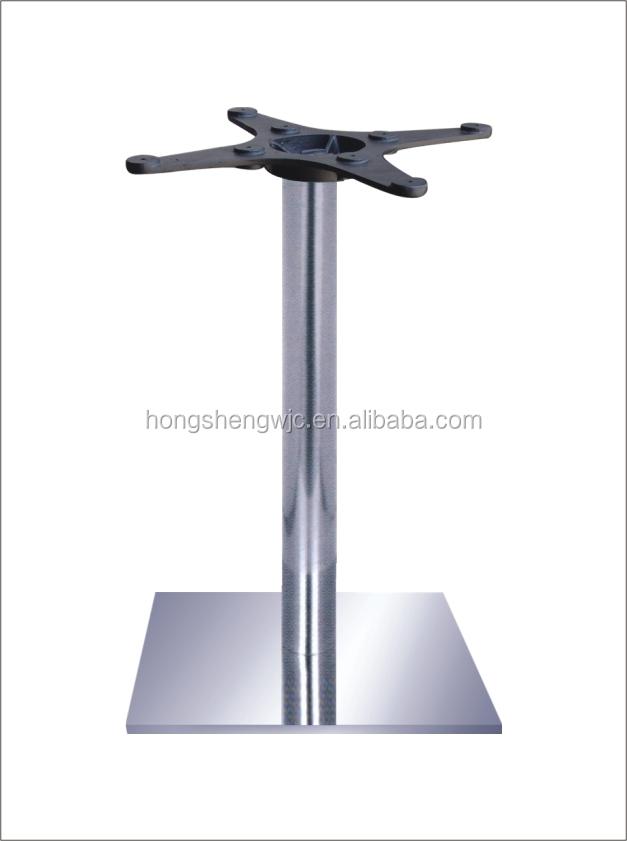 Lovely One Leg Table Granite Table Leg Stainless Steel Legs For Table 201SS A062