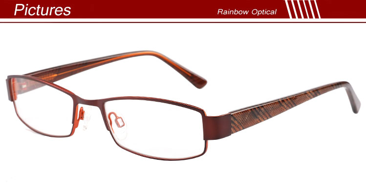 Metal Eyeglass Frame Materials : New Design Combine Colored Metal Eyeglass Frame - Buy ...