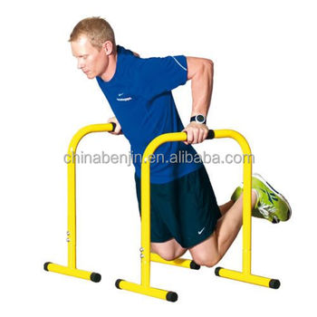 Home Gym Workout Gymnastic Fitness Equipment Portable Push Up Dips Bar  Handstands Parallel Station Horizon Rack