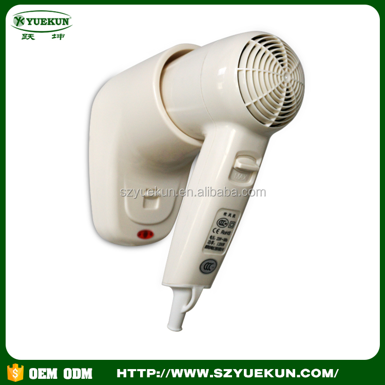 wall mounted super silent 1200W hairdryer new style professional blower hair dryer