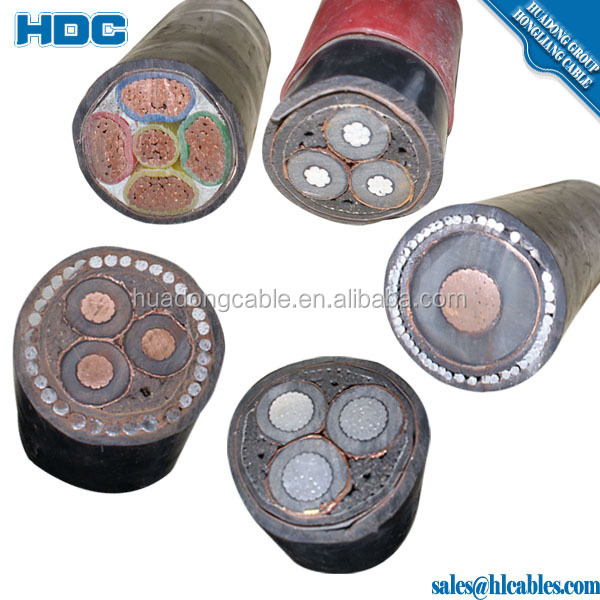 Power Cable 185 Sq Mm 3 Core 4 Core Steel Wire Armoured ...