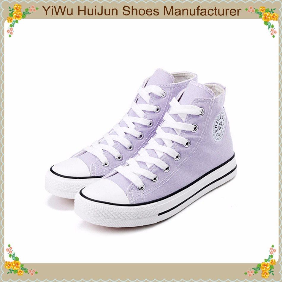 low price canvas shoes high neck casual classic shoes