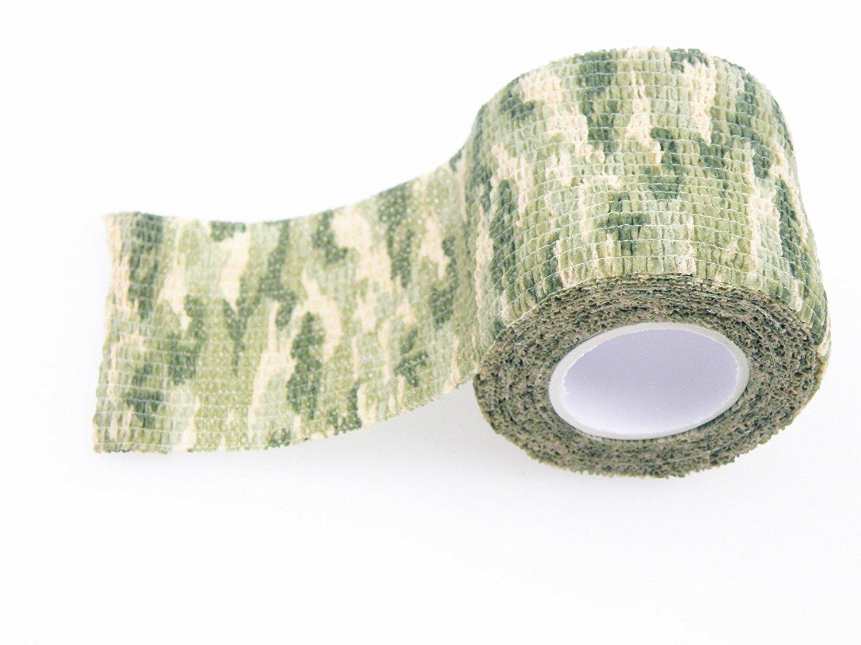 Self-adhesive Non-woven Camouflage WRAP RIFLE GUN Hunting Camo Stealth TapNWUS