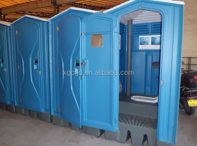 Portable Toilet Exhibition : Accessible mobile portable toilets cabin high quality