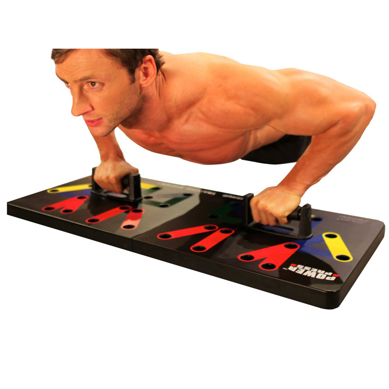 9 In 1 gym push-up übung ausrüstung push-up training system, push-up board