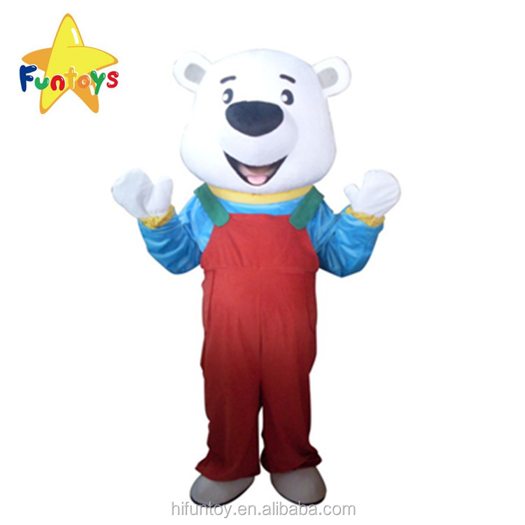 Funtoys CE Red Pants Bear Role Playing Mascotte Theme Mascot Costume