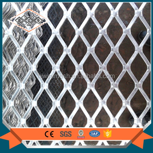 Galvanized flattened Aluminum expanded metal <strong>mesh</strong>