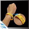 Factory Wholesale Price - Custom Branded Logo Silcone Rubber Wristbands