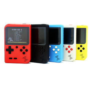 Retro Handheld Game Console 3 inch Color LCD Screen Built-in 400 Games Kid Video game players