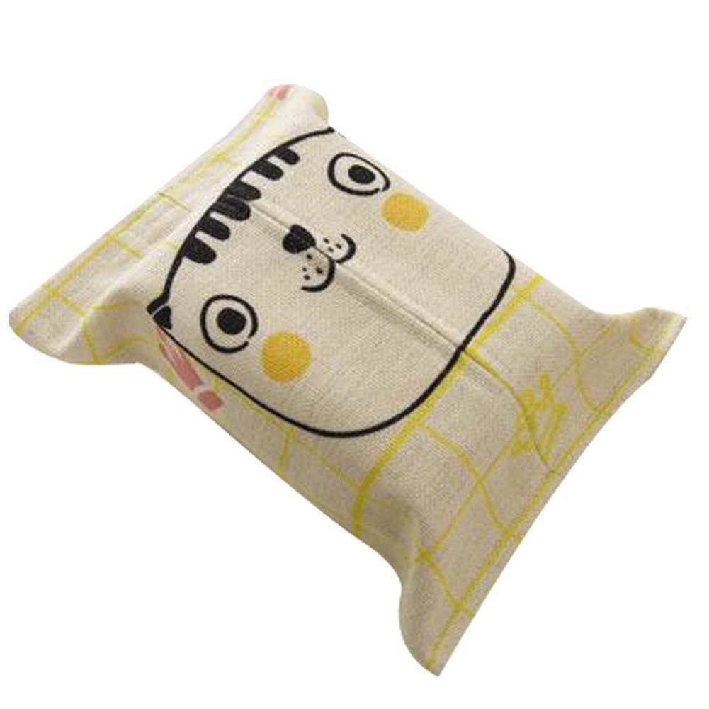 Panda Superstore Simplify Napkin Box Cartoon Paper Towel Box Lovely Tissue Holder Tissue Boxes