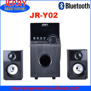 2.1 multimedia amplifier speaker wood sub-woofer speaker, 2.1 ch subwoofer systemactivate lound speaker 2.1 home theater