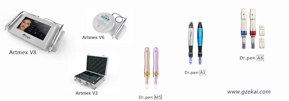Newest 5 Speed Derma Pen Electric Auto Microneedle Dr  Pen Dermapen  Dermastamp Meso Needle Pen Ultima A6 - Buy Derma Pen,Dr  Pen,Microneedle  Derma Pen