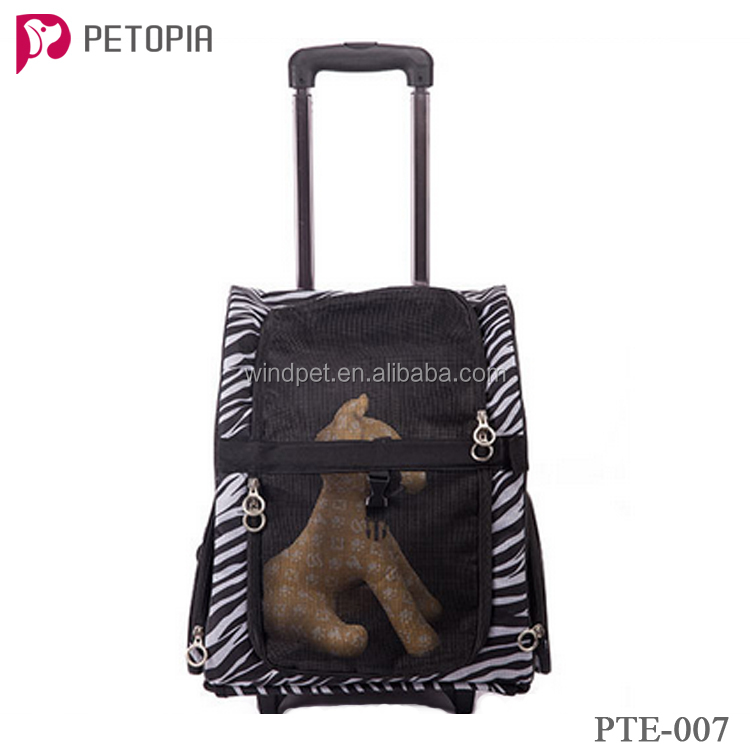 Outdoor pet carrier with wheels wholesale