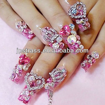 Nail Art Glitter Stonesnail Art Rhinestone Non Hot Fix Buy Hot