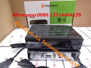 Stocks for Alphabox X4 mini Powervu auto roll Full HD DVB-S2 digital  satellite receiver