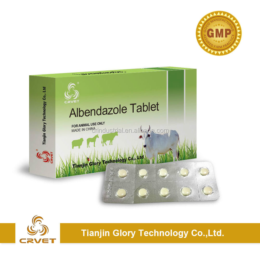 Albendazole tablet 250mg 300mg 500mg 2500mg