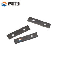 precision manufactured wearability and high temperature resistance carbide pelletizer cutting knives for cut plastic materials