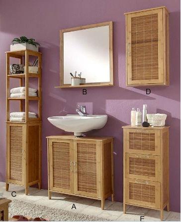 Bamboo Bathroom Wall Cabinet(manufacturer) - Buy Bamboo Bathroom ...