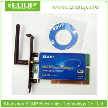 EDUP WIRELESS 108MBPS LAN PCI CARD DRIVER WINDOWS