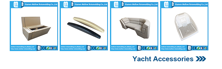 Rotational mold plastic pontoon furniture/boat seat/marine accessories