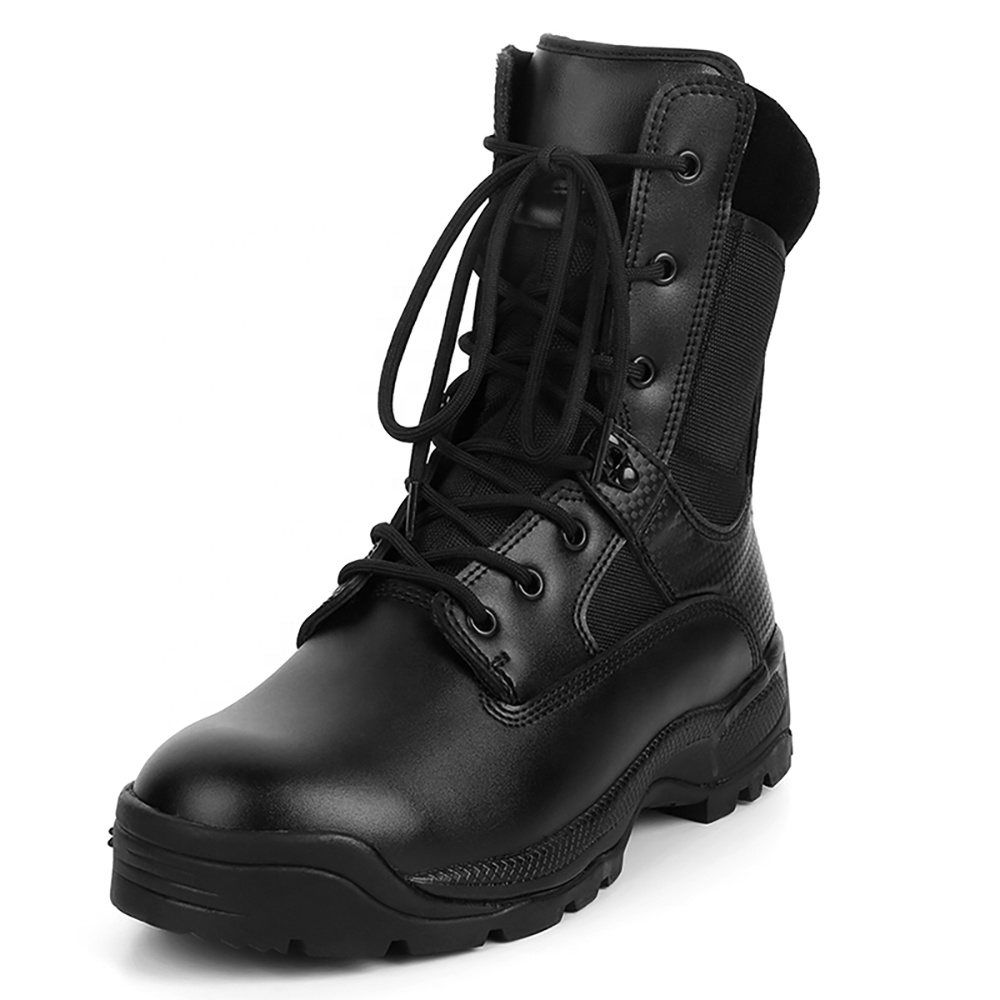 Hot Sales Combat Military Hiking <strong>Boots</strong> in Stock and Leather Material Classical Man Boxer <strong>Boots</strong>